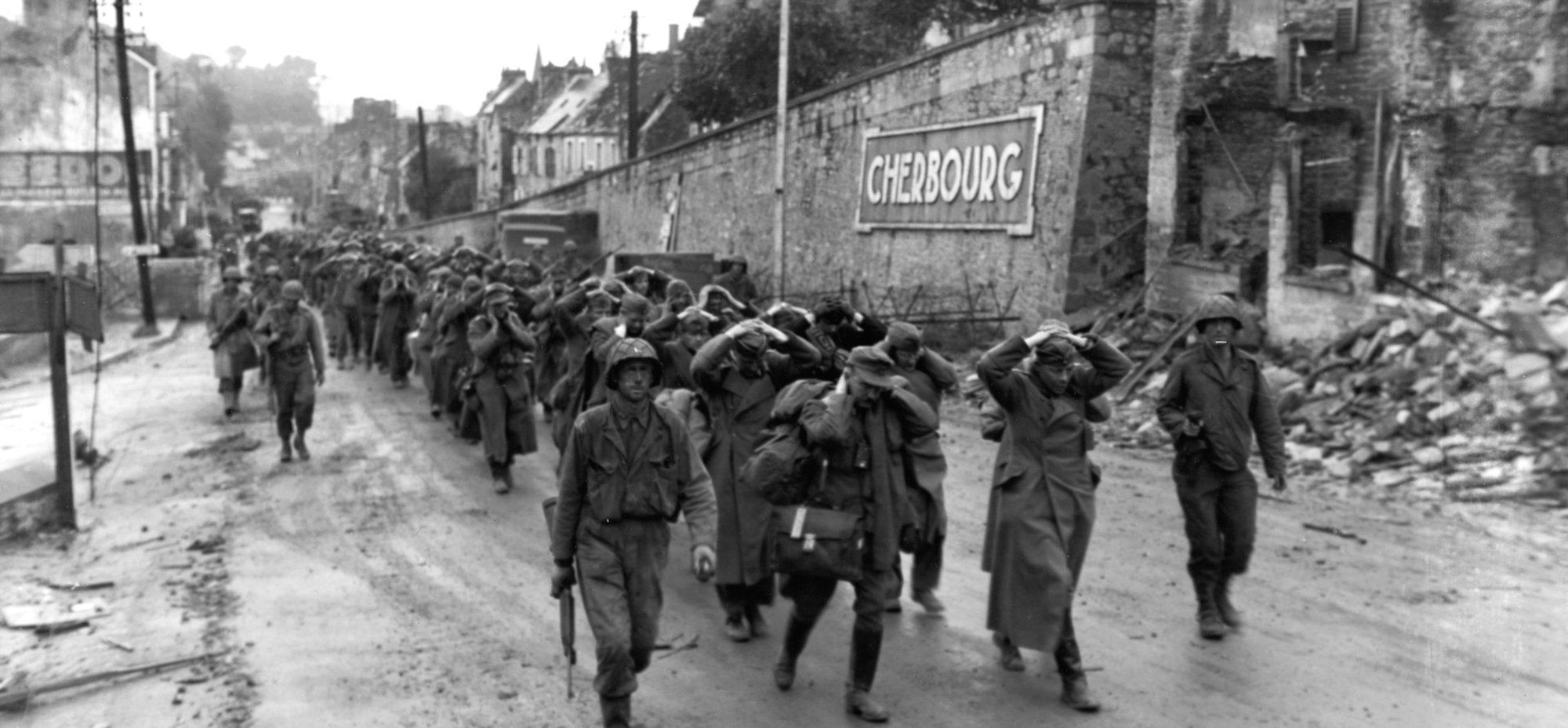 De slag om Cherbourg